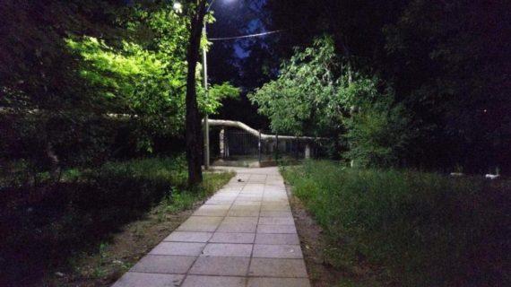 В Симферополе продолжается замена освещения