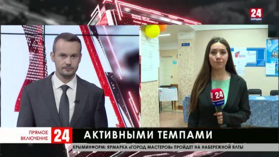 В Крыму активно подсчитывают голоса