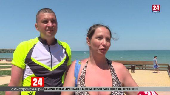 Крым принимает туристов из других регионов