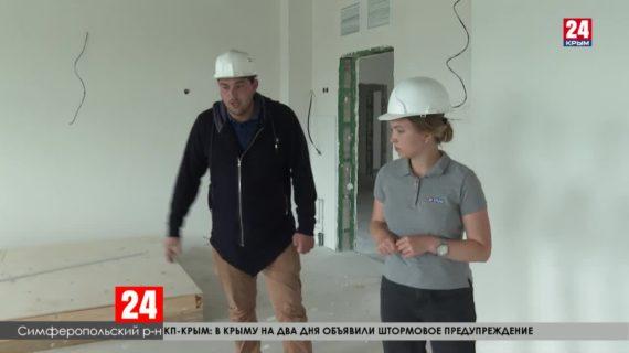 В Симферопольском районе возводят две школы