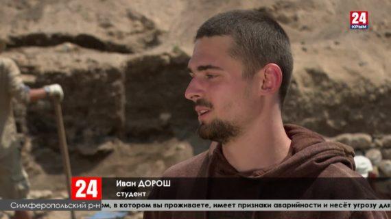 В Крыму в разгаре археологический сезон
