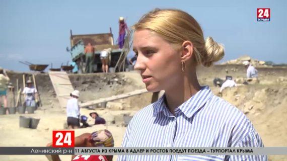 Под Керчью археологи уже 15 лет ищут башни древнего городища