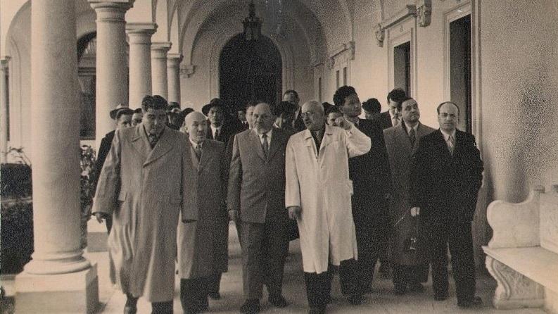 Виртуальная выставка «Известные гости советской Ливадии» начала работу в Ливадийском дворце