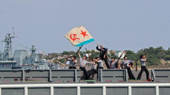 Парад на День ВМФ 2020 в Севастополе: Полное видео