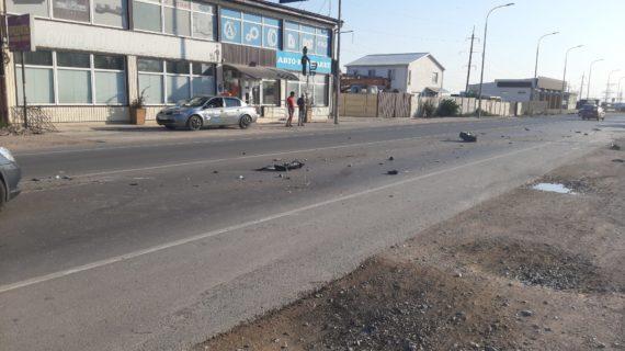 В Феодосии столкнулись два автомобиля, пострадали дети