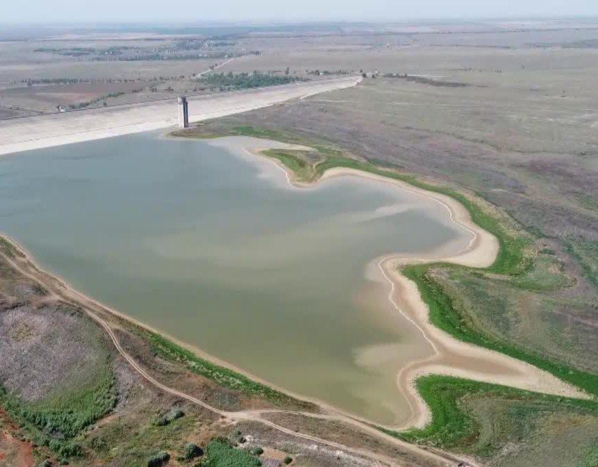 До конца года Крым начнёт получать дополнительные 22,5 тысячи кубометров воды в сутки