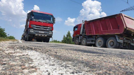 Дорогу Нижнегорский — Белогорск отремонтируют в этом году