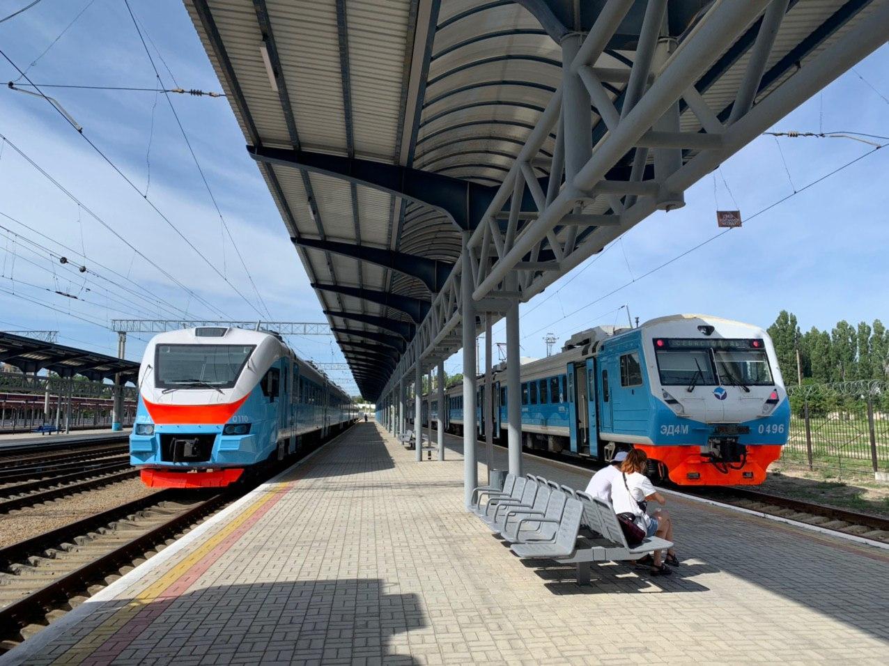 Поездка с комфортом: Журналисты «Крым 24»  проверили новые электрички