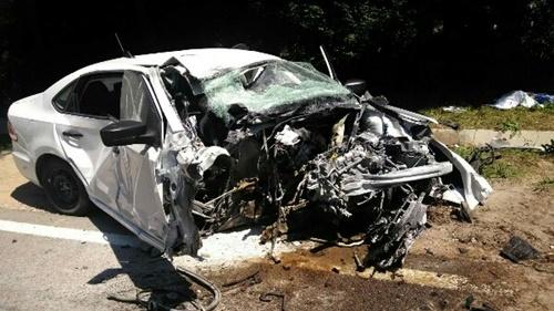 На трассе Симферополь — Ялта произошло смертельное ДТП