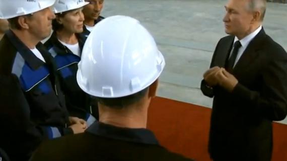 Мы гордимся профессионализмом и мастерством тех, кто строит отечественный флот – Путин