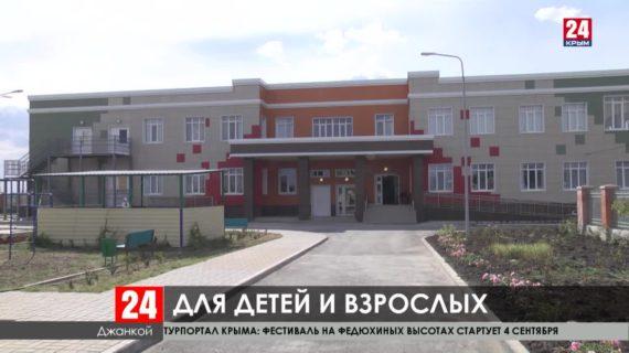 В селе Марьино на севере Крыма завершают капремонт дома культуры