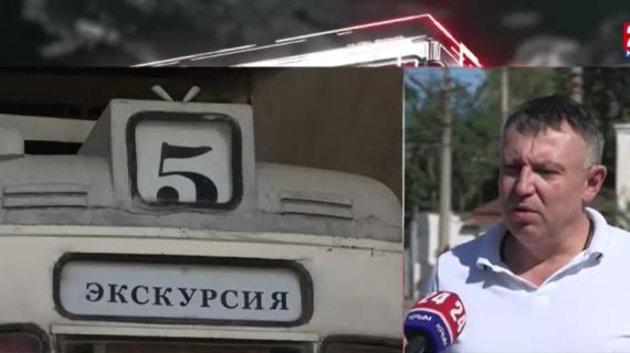 В Евпатории уложат уникальные шпалы для трамвайных путей