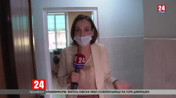 Армянская больница почти неделю работает в режиме ковидного госпиталя