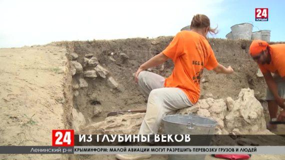 В урочище Артезиан найдены артефакты сразу двух исторических периодов