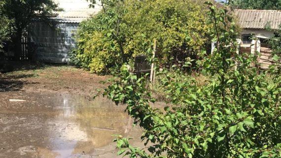 В Симферопольском районе из-за дождя подтопило 27 домов