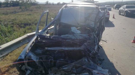 На трассе Симферополь-Феодосия произошла авария. Есть погибшие