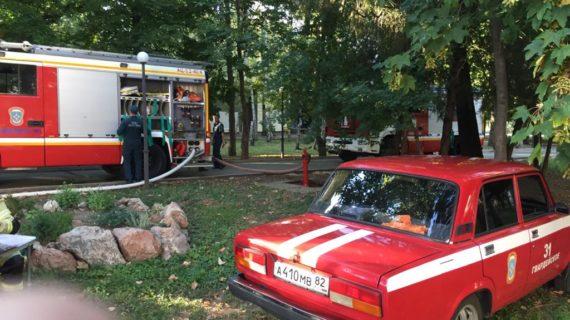 В общежитии Медакадемии в Симферополе на пожаре спасли 5 человек