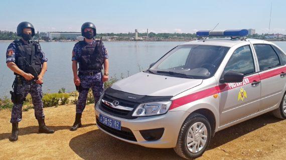 В Крыму росгвардейцы поймали подозреваемого в поножовщине