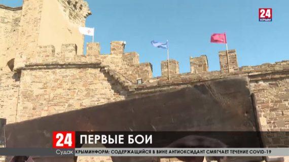 В Судакской крепости стартовал двадцатый фестиваль «Генуэзский шлем»