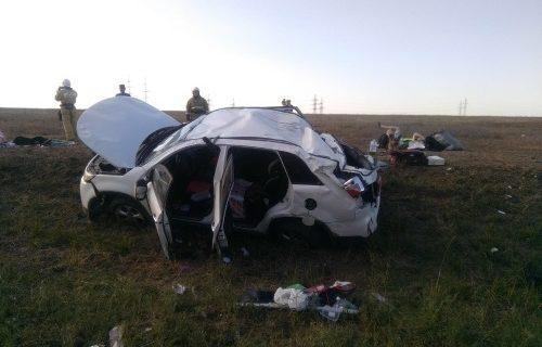 На трассе «Таврида» опрокинулся автомобиль, есть пострадавшие