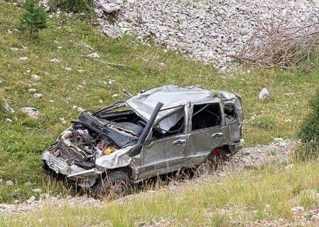 В Крыму автомобиль с пассажирами скатился в ущелье и разбился. Есть погибшие