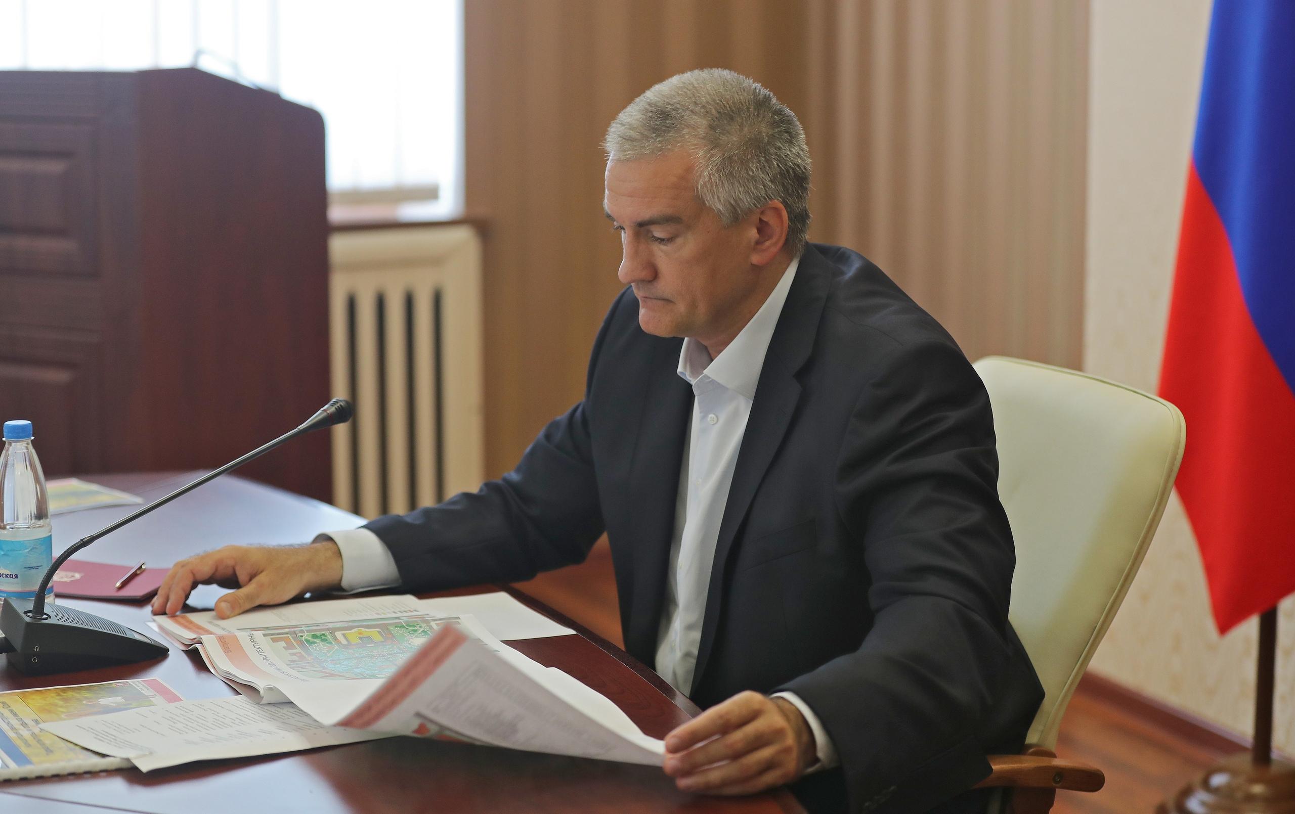 """""""Давайте парки приведём в порядок"""": Аксёнов дал поручение администрации Симферополя"""