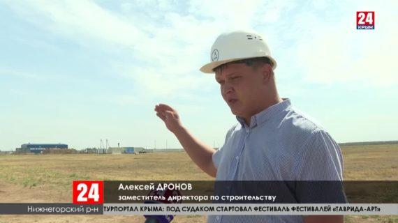 В Нижнегорском и Джанкойском районах завершается строительство водозаборов