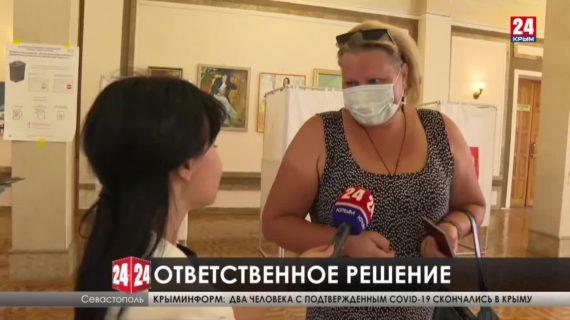В Севастополе явка на выборах к вечеру составила 40%
