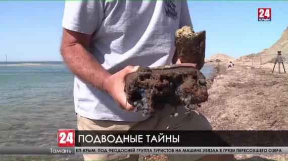 В Керченском проливе обнаружили остатки деревянного парусного судна