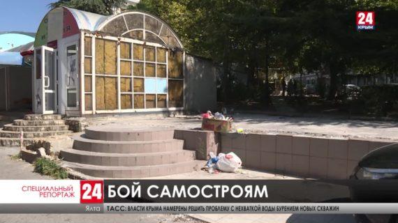 Почему незаконные постройки в Крыму не могут снести годами?