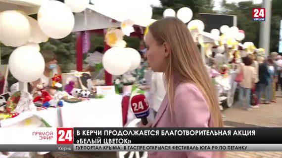 """Акция """"Белый цветок"""" в Керчи"""