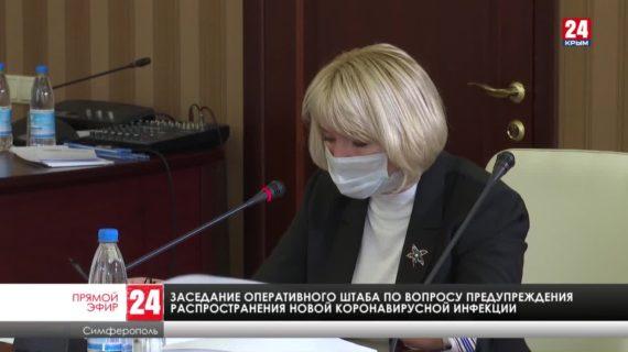 Доклад о ситуации по предотвращению распространения коронавирусной инфекции в Крыму 30.09.20