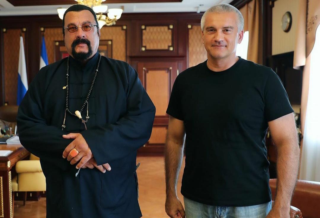 В Крым приехал Стивен Сингал