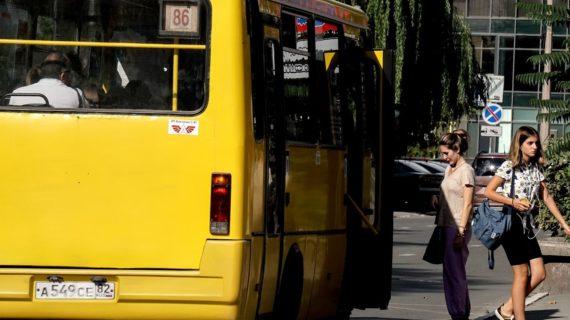 Проценко: В общественном транспорте 90% симферопольцев носят маски