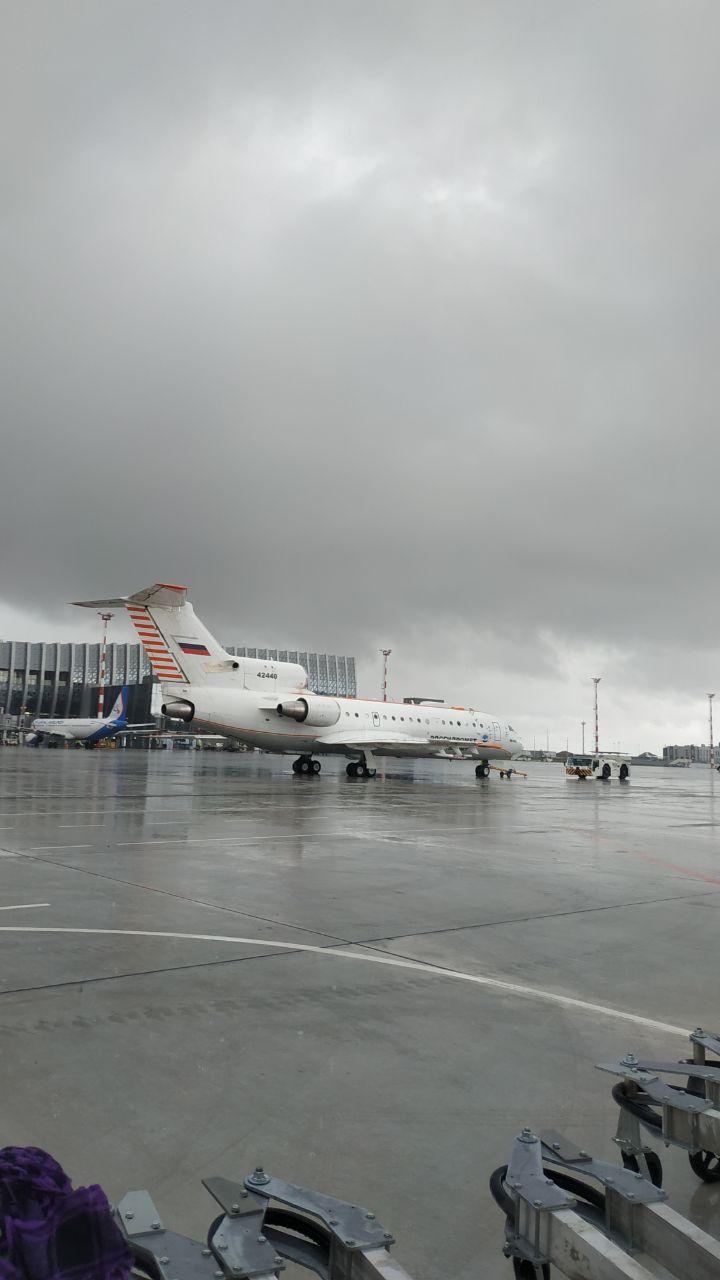 Росгидромет показал изнутри самолёт, вызывающий осадки