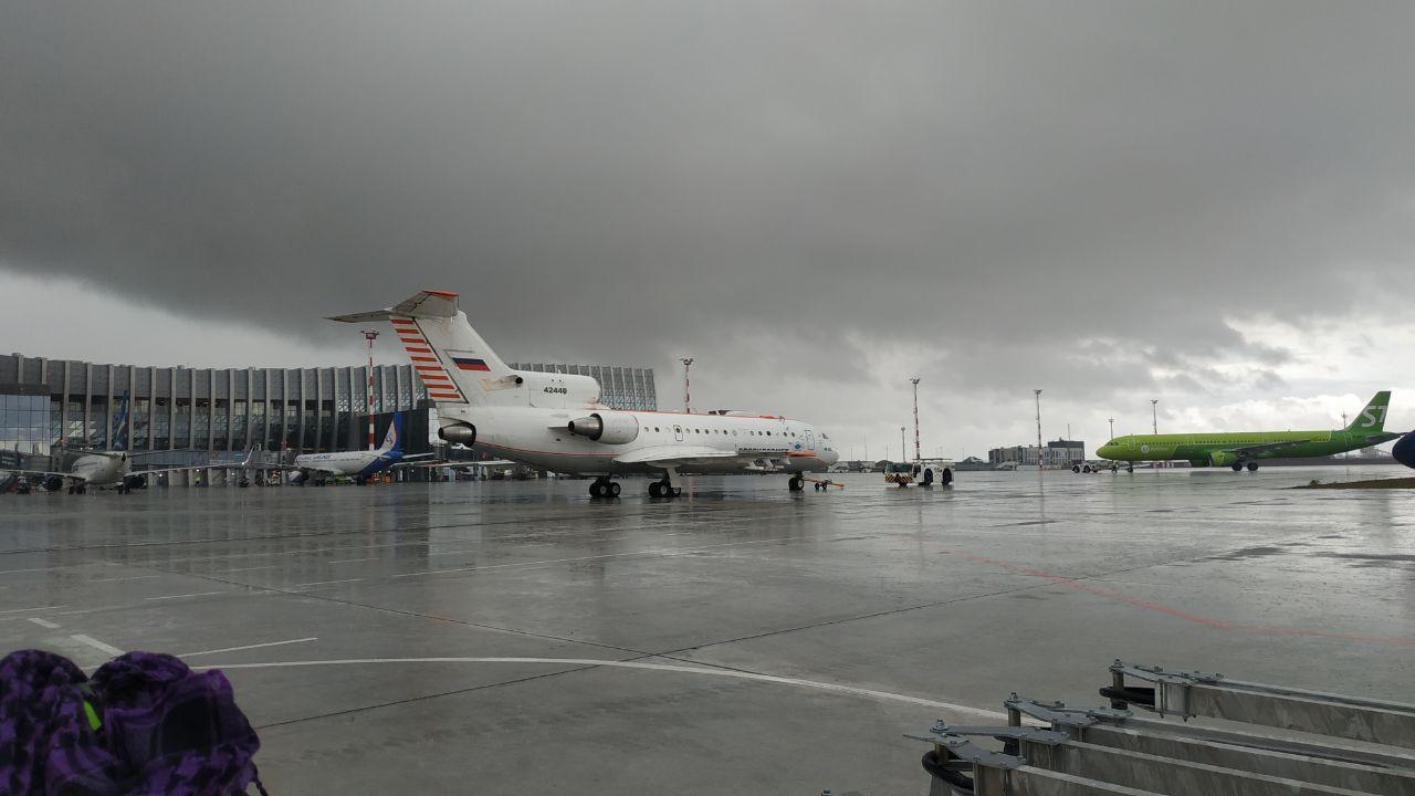Вызывающий дожди самолёт прибыл в Крым