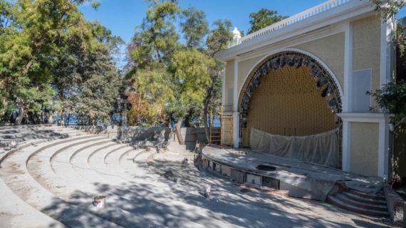 В Севастополе приостановили строительные работы на летней эстраде «Ракушка»