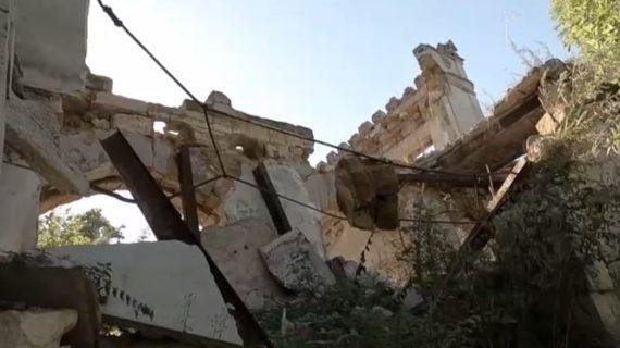 Под Симферополем реконструируют старинную усадьбу Монжене