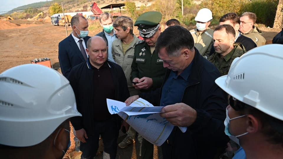За строительством объектов для обеспечения водой Севастополя будут следить с помощью видеокамер