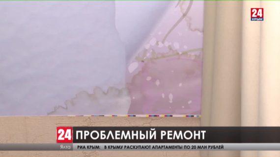 Пятиэтажка в Ялте осталась без кровли