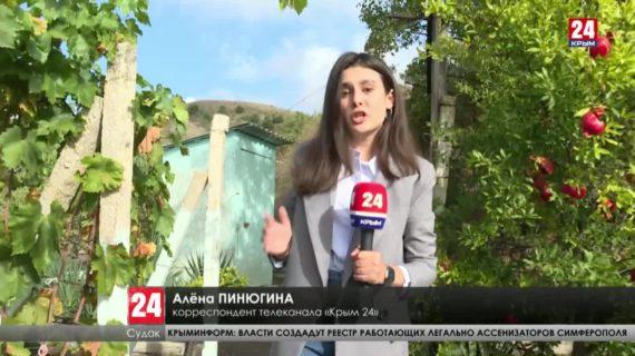 Часть жителей села Морского под Судаком месяц сидят без воды