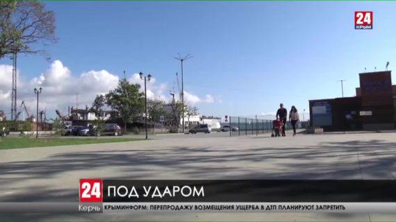 В Керчи вновь орудуют вандалы