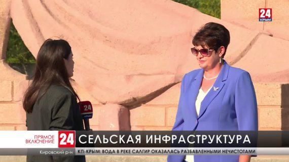 В селах Кировского района восстанавливают инфраструктуру
