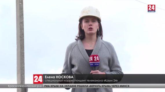 В Новоалексеевке начали бурить новую скважину