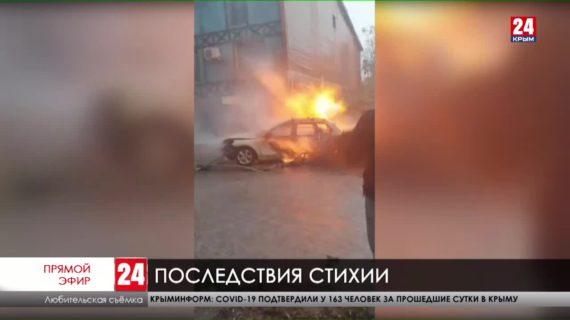 В минувшие сутки на Керчь обрушилась стихия