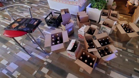 В Гурзуфе попытались продавать нелегальный алкоголь