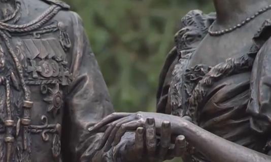 В Алуште открыли памятник, посвященный царской семье