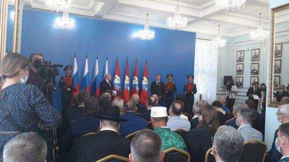 Михаил Развожаев вступил в должность губернатора Севастополя