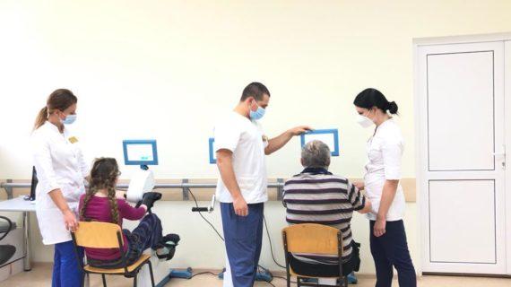 В Крыму открыли реабилитационное отделение для пациентов с нарушениями функций ЦНС