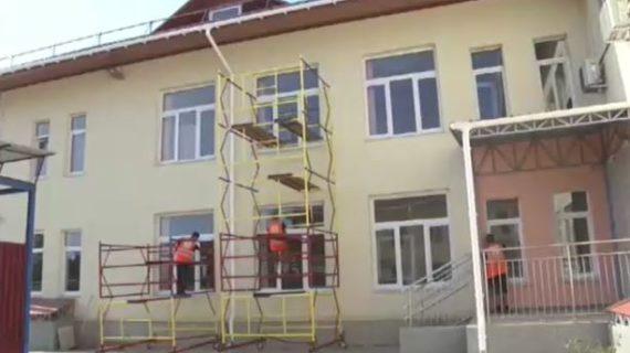Новый модульный детсад на 150 мест построили в Сакском районе